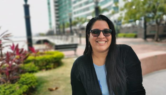 Blanca Moncada, periodista guayaquileña y autora de 'Mis Historias Urbanas'