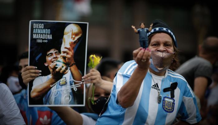 Maradona muerte