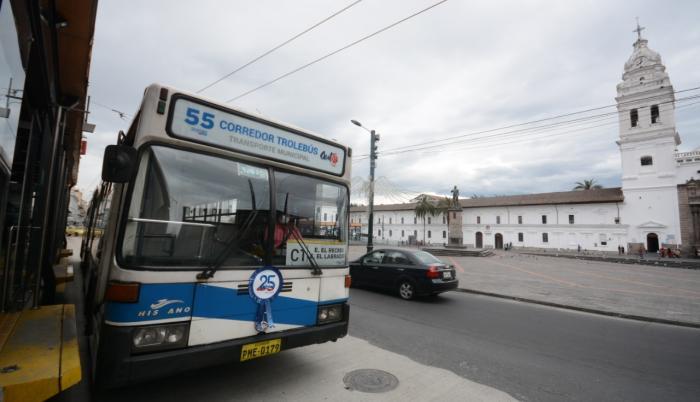 El sistema de transporte trolebús cumple 25 años.