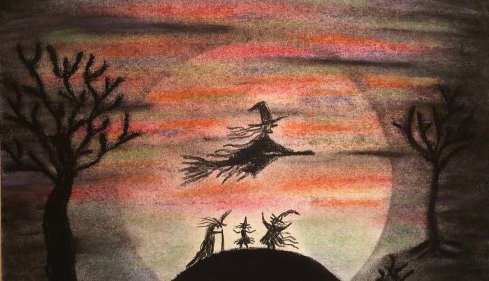 Una bruja en Navidad
