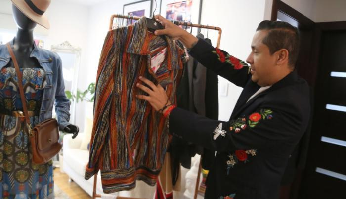 La demanda por ropa de segunda mano crece en la capital.