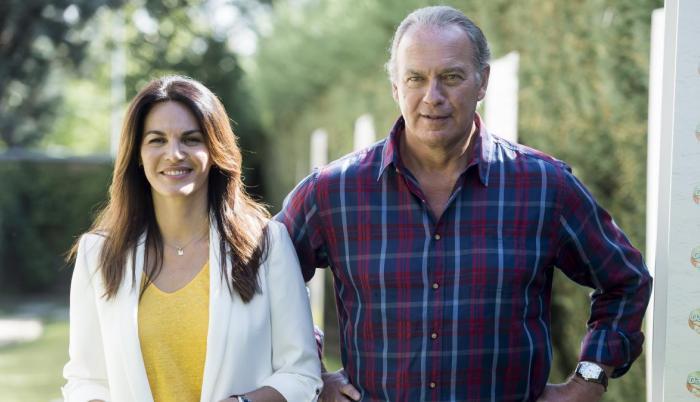 Fabiola Martínez y Bertin Osborne