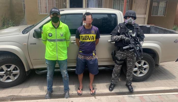 Extorsionador detenido