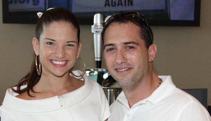Natalia Jiménez y Daniel Trueba.