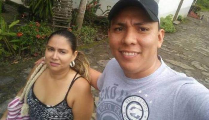 Luis Aguilar y su esposa Leslie Pino, llevaban 8 años de unión.