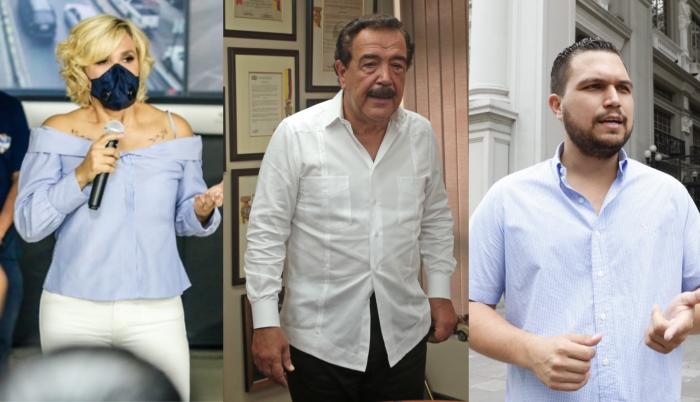 Viteri, nebot y Sánchez están entre quienes usaron sus redes para pronunciarse.
