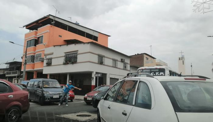 congestionamiento Guayaquill