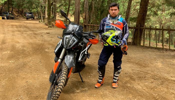 Mauricio Cuevas moto Sudamericano