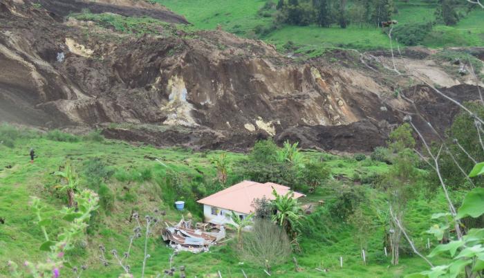 Deslave en Chunchi