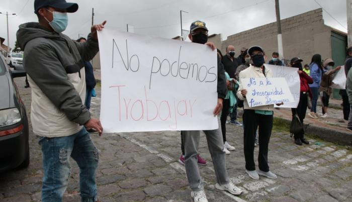La inseguridad genera protestas en Quito.