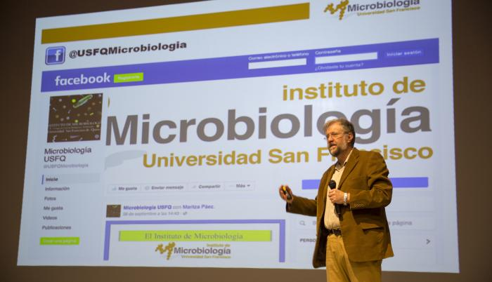 Gabriel Trueba_PhD en Microbiología_USFQ