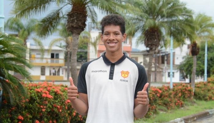 Kevin Bueno es de los atletas más prometedores en Ecuador.