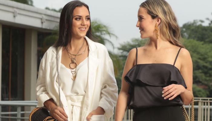 Denisse Bohrer e Isabella Fuentes