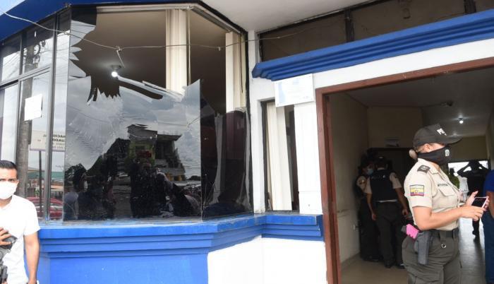 explosion policial