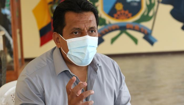 Elvis Chuchuca, gerente general de la Empresa de Movilidad y Tránsito de Durán.