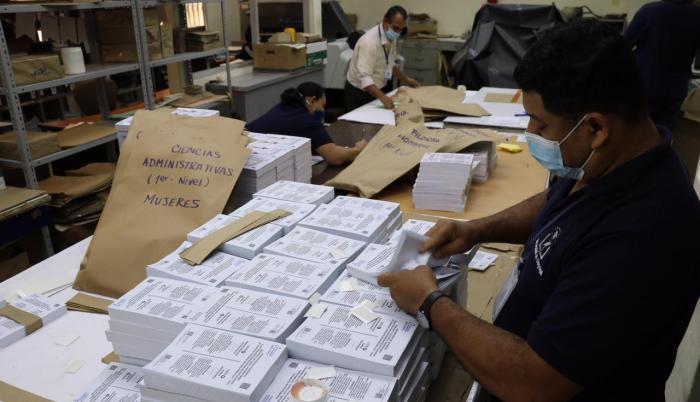 papeletas electoral