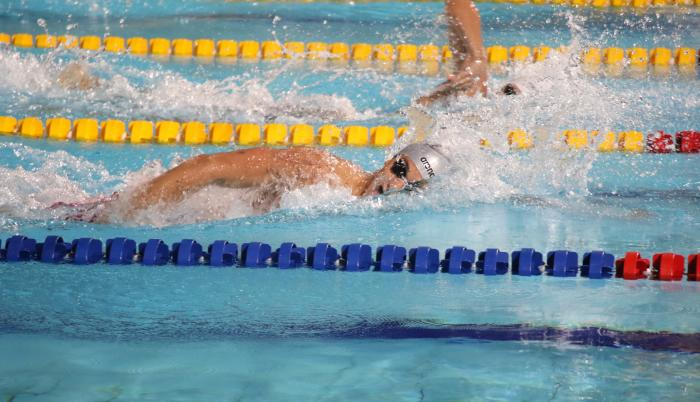 Tomás Peribonio natación Ecuador