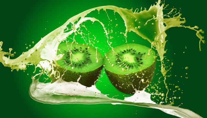 Kiwi, una fruta refrescante