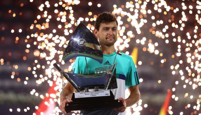 Alan Karatsev tenis Dubai