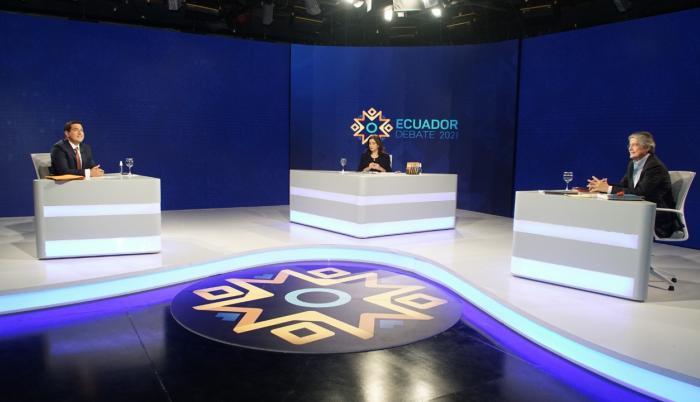 Andrés Arauz y Guillermo Lasso son parte hoy de un debate obligatorio de cara a la segunda vuelta electoral.