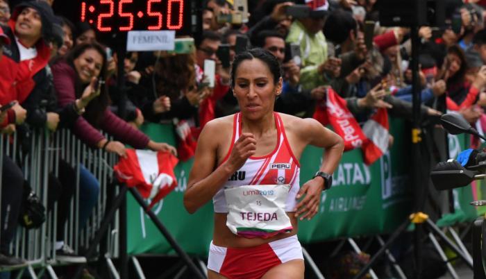 Gadys Tejeda maratón Perú