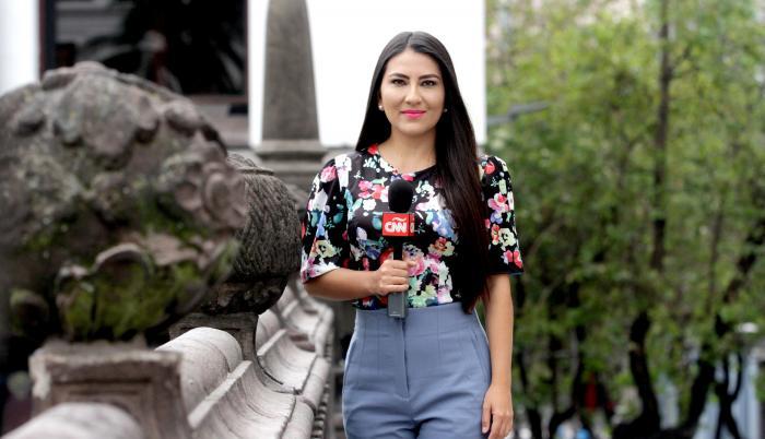 Ana María Cañizares, periodista CNN