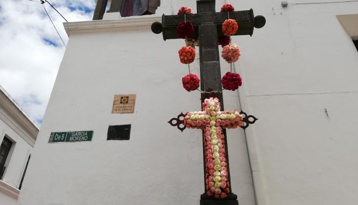 En Quito, hay varios actos por Semana Santa.