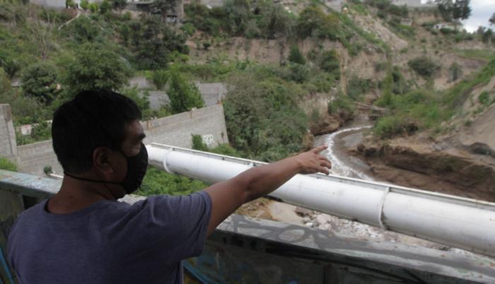 Las inspecciones en el Río Monjas continúan.