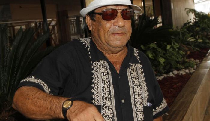 Roberto Calero fallece un 4 de abril de 2021.