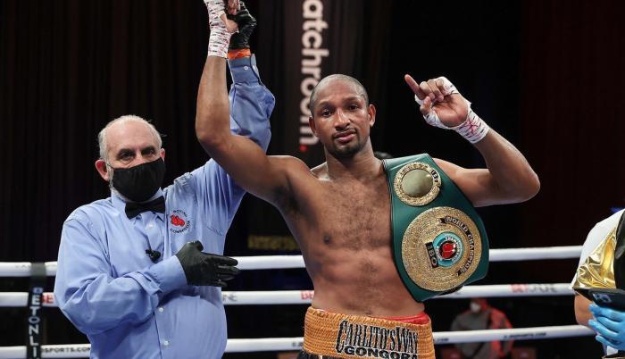 Carlos Góngora campeón mundial boxeo