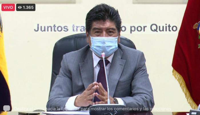 Jorge Yunda pide un estado de excepción temporal.