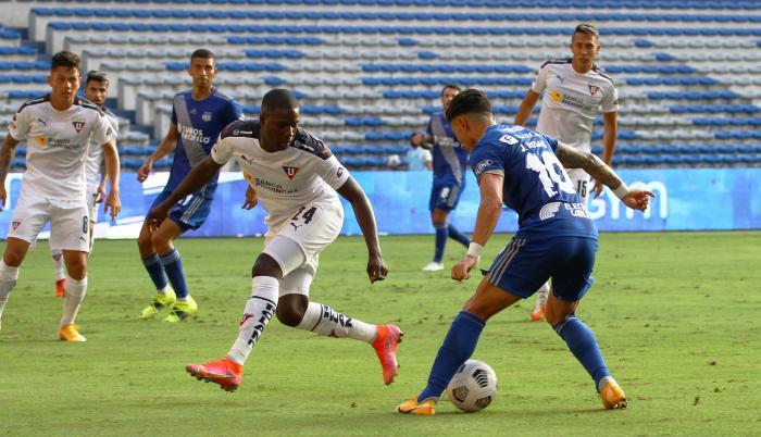 Emelec Liga de Quito fecha 3 7
