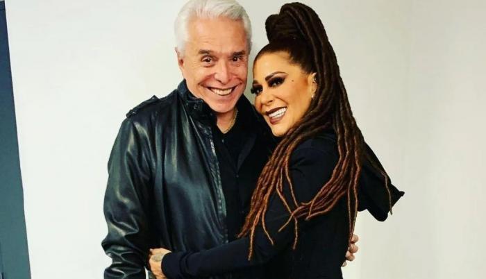 Enrique Guzmán y Alejandra Guzmán