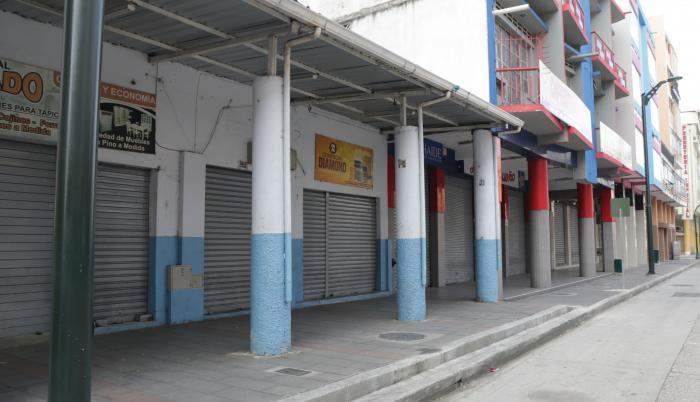Locales cerrados Guayaquil Pandemia COVID Comercio