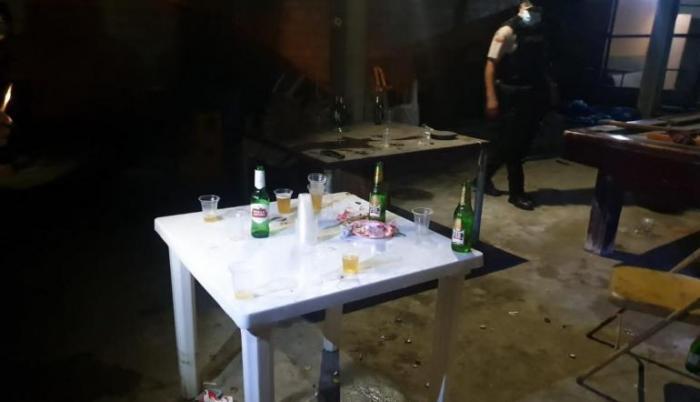 Santa Lucía fiestas clandestinas