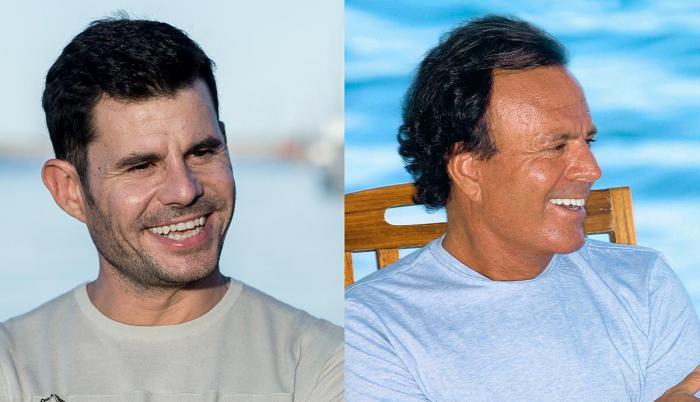 Javier Sánchez y Julio Iglesias