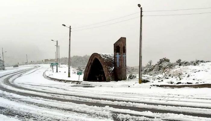 Papallacta- Nieve- invierno