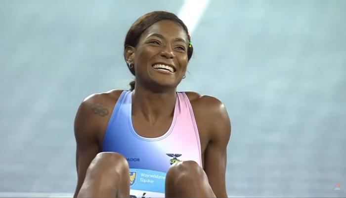 Marisol Landázuri atletismo Ecuador