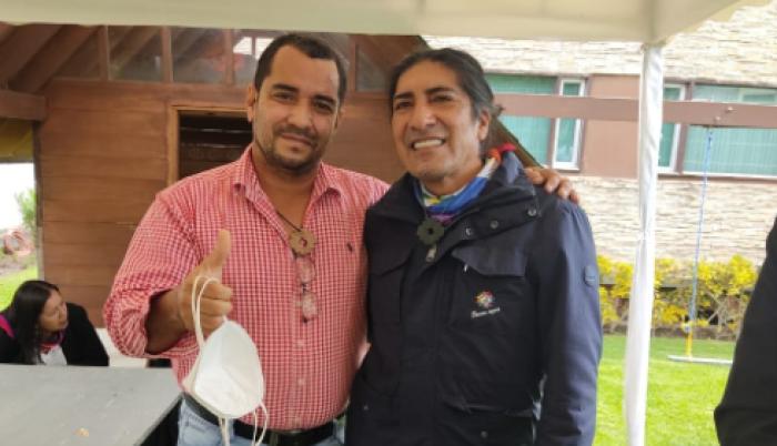 Pachakutik sufre su primera baja a dos días de que se instale la nueva Asamblea;  Omar Cevallos, se declara independiente por roces con el coordinador de la organización en Guayas