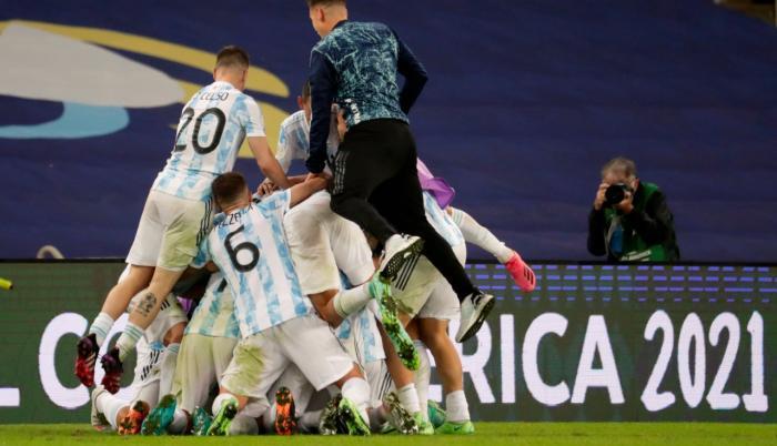 Argentina, con Lionel Messi, gana la final de la Copa América 2021 en Brasil